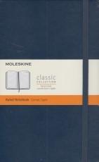 Moleskine Ruled Notebook (dark blue)
