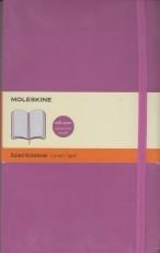 Moleskine Ruled Notebook (purplish pink)