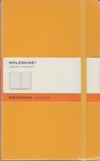 Moleskine Ruled Notebook - yellow