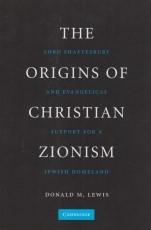The Origins of Christian Zionism