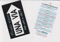 Una Via - El Camino Romano [One Way - Romans Road] - Spanish Tract