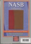 NASB - Ultrathin Reference Bible ( burgundy/tan, Leathertex)
